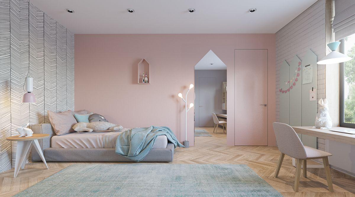 10 Warna Cat Rumah Minimalis Selain Hitam Putih Dan Abu Abu