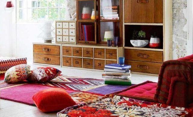 karpet ruang tamu lesehan 2