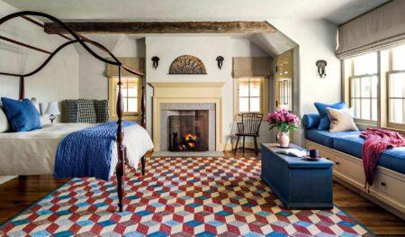 Dekorasi kamar dengan karpet
