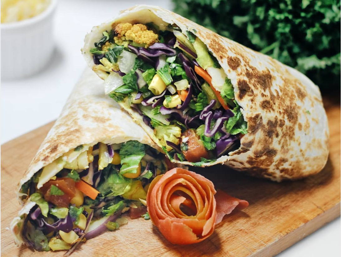 The Salad Wrap