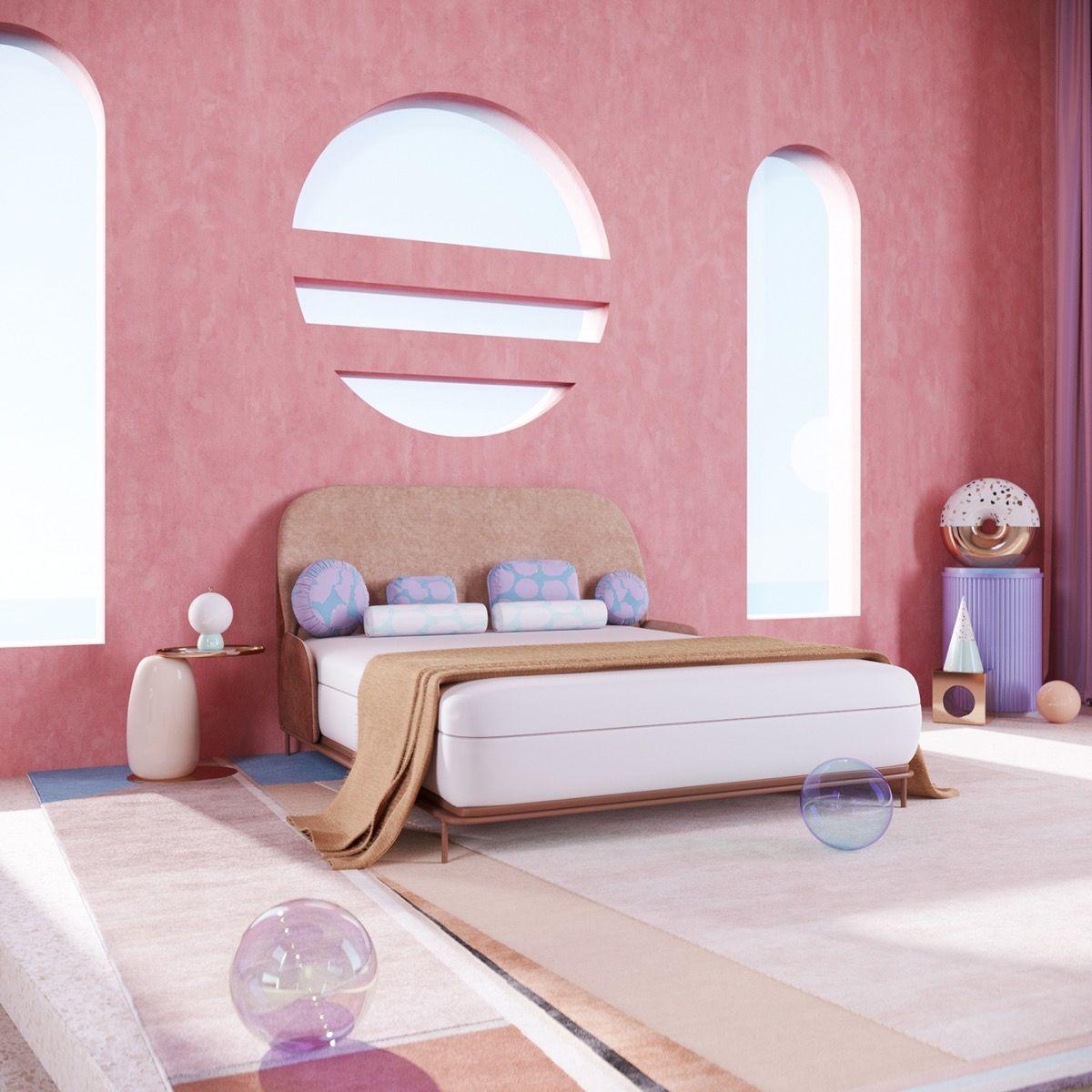 17 Ide Dekorasi Kamar Warna Pink Yang Modern Dan Anti Norak