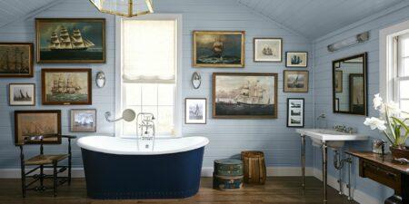 Cat tembok kamar mandi sempit