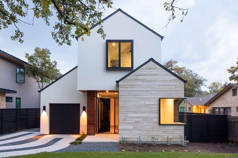 15 Desain Rumah Minimalis Tampak Depan Simple Unik Untuk Ditiru