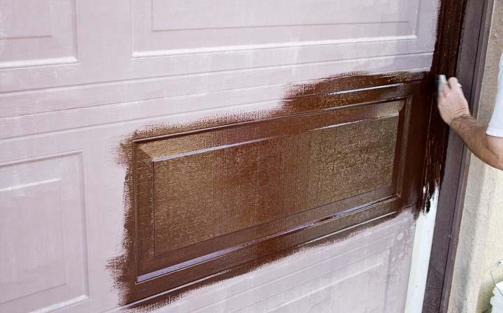 cara mengecat pintu untuk pemula