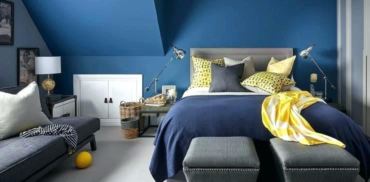 kombinasi warna kuning dan biru