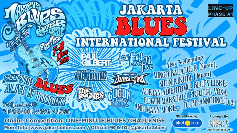 event Desember di Jakarta - Jakarta Blues International Festival