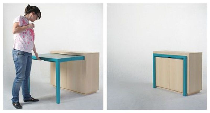 futnitur multifungsi laci dan meja