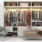 lemari pakaian organized