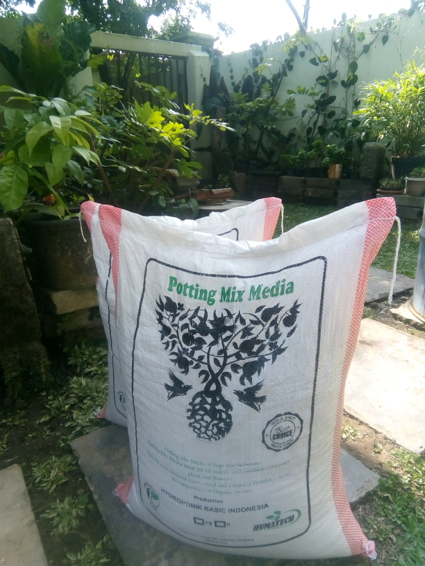 potting mix media