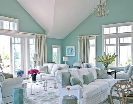 10 Inspirasi Ruangan dengan Cat Tembok Mint Green yang Segar