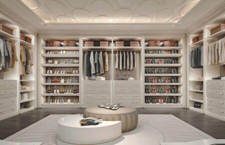 Desain walk-in closet
