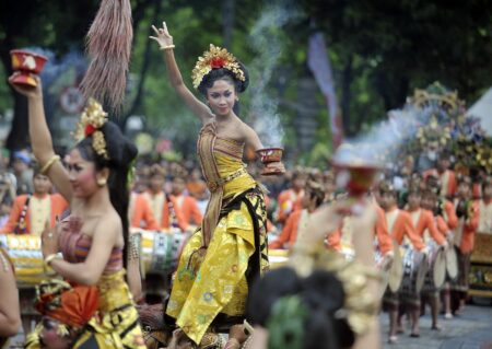indonesia new year's celebratiob