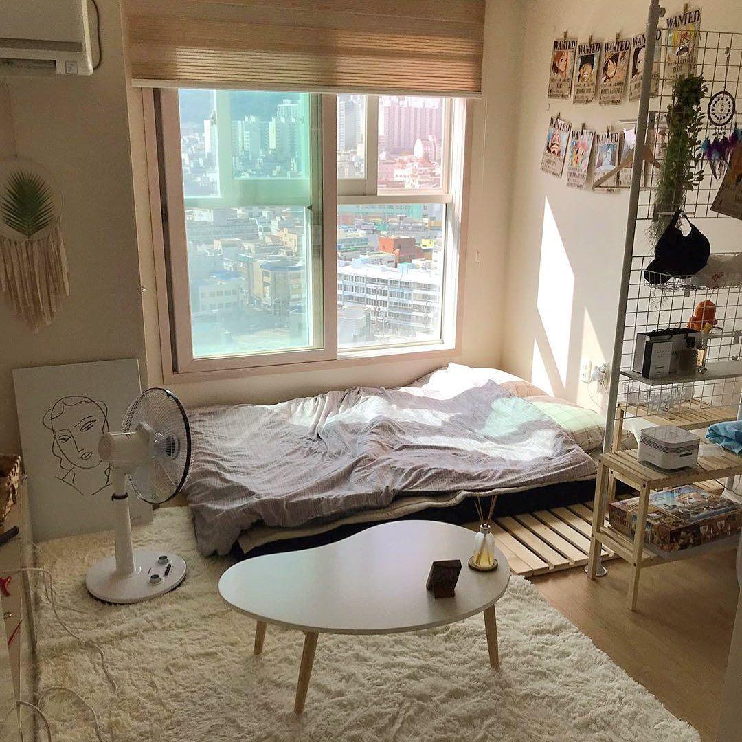 Inpirasi desain kamar dari drama Korea dengan partisi