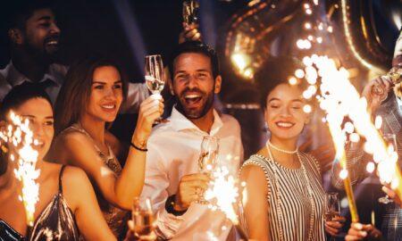 Ide pesta Tahun Baru yang sederhana