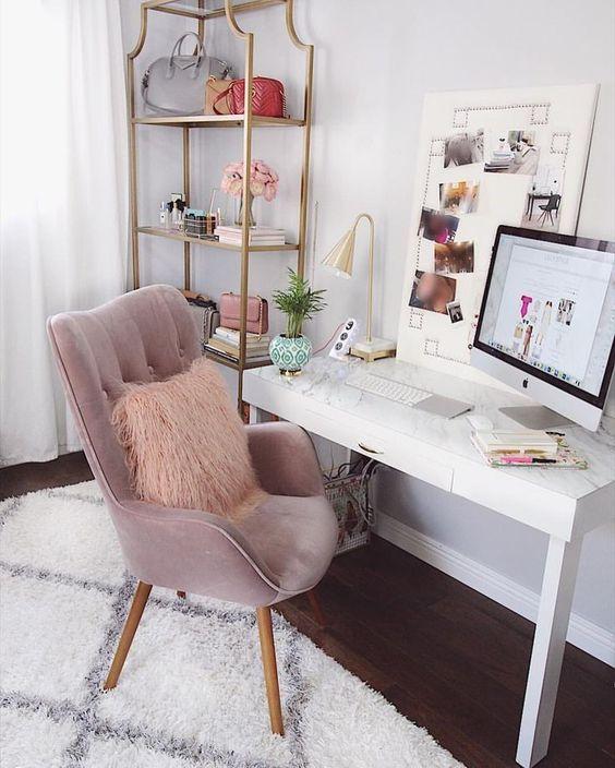 dekorasi ruang kerja di kamar