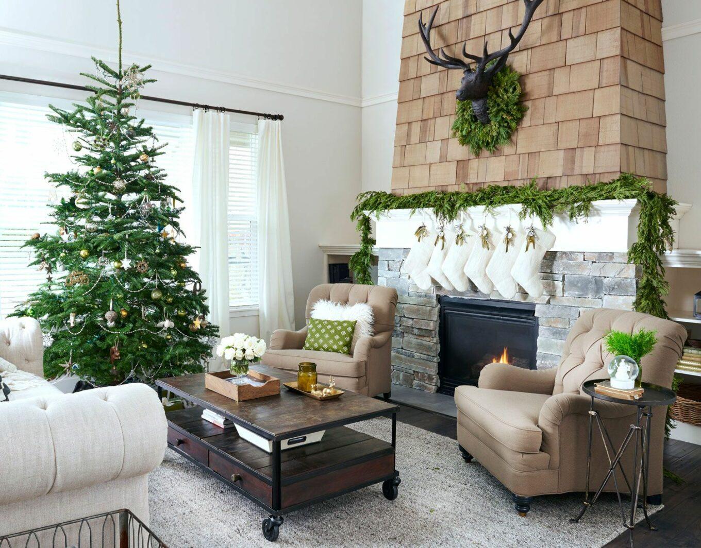 dekorasi natal sederhana