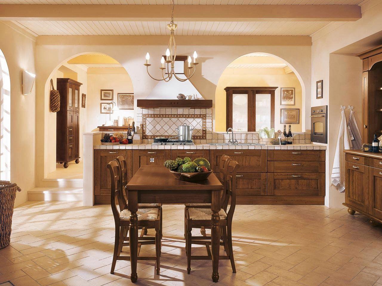 Desain interior rumah klasik Italia