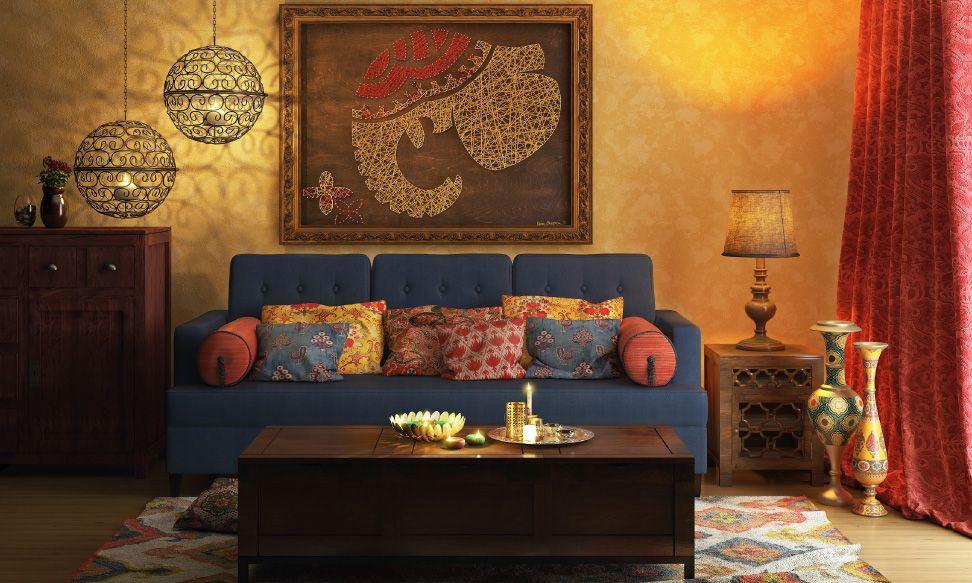 Desain interior rumah India