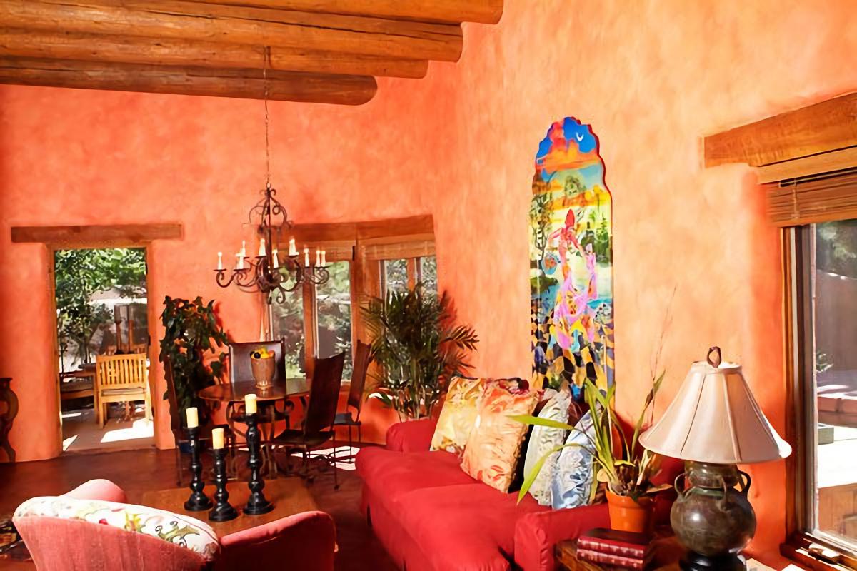 Desain interior rumah Mexico