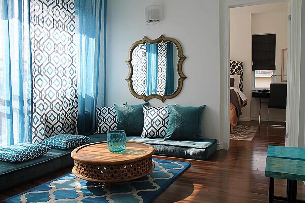 Desain interior rumah Maroko