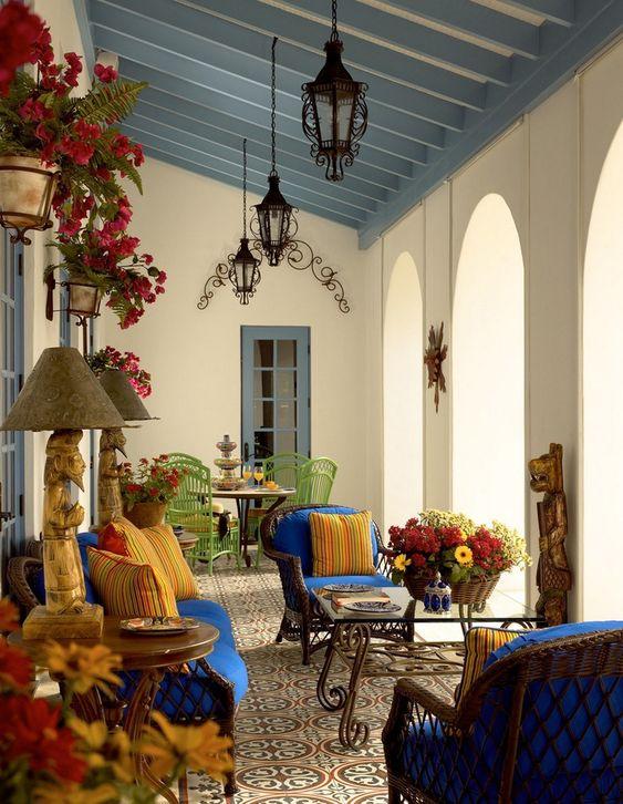 Desain interior rumah berbagai negara - Spanyol