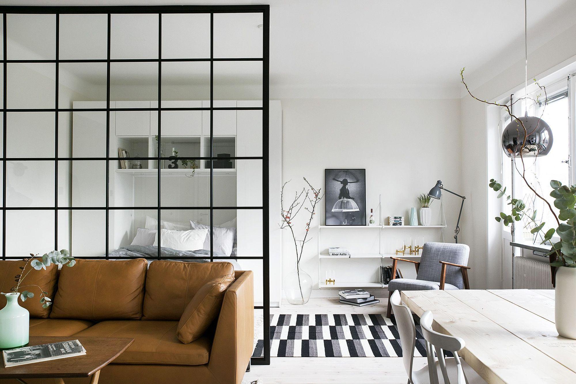 inspirasi desain sekat ruang transparan