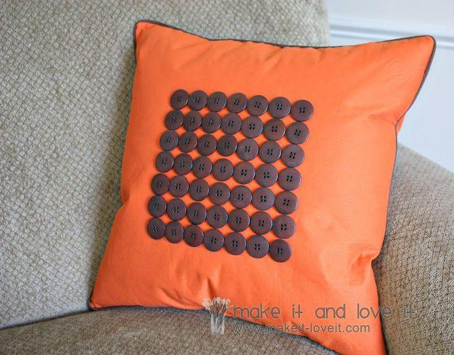 diy bantal sofa dengan kancing
