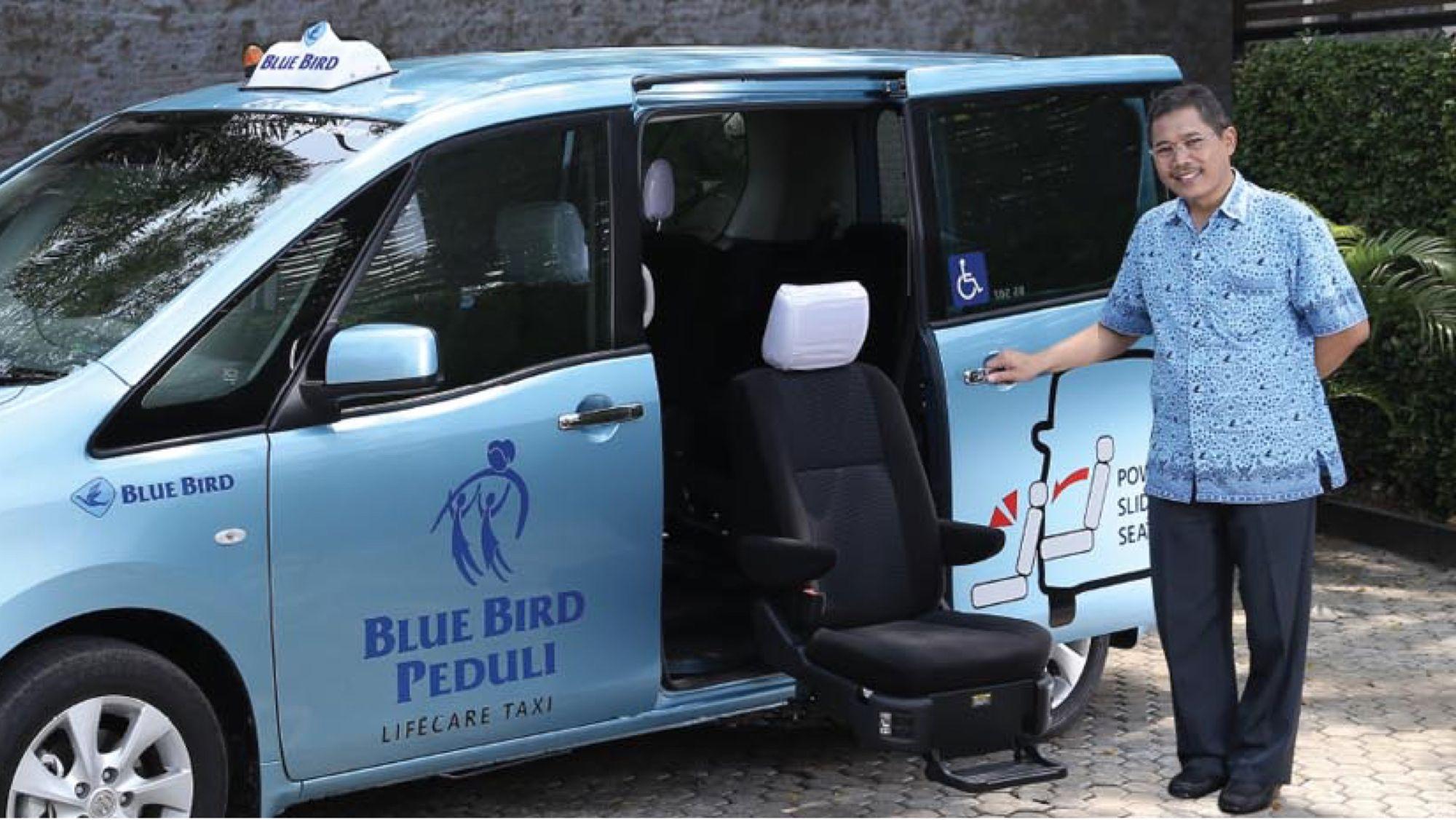 fasilitas ramah difabel - taksi bluebird lifecare