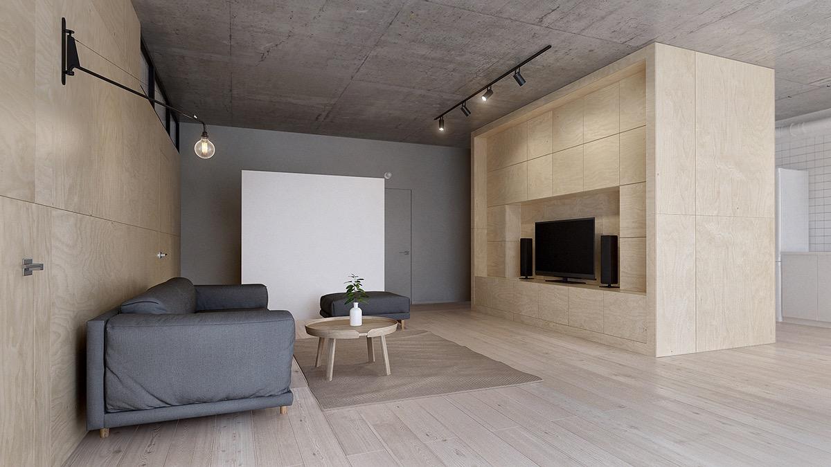 inspirasi ruang tamu minimalis yang sederhana