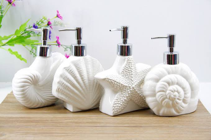 aksesoris lucu kamar mandi - tempat sabun cair