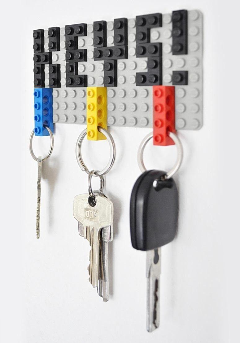15 diy tempat gantung kunci yang unik