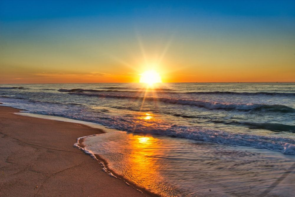 sunrise tahun baru