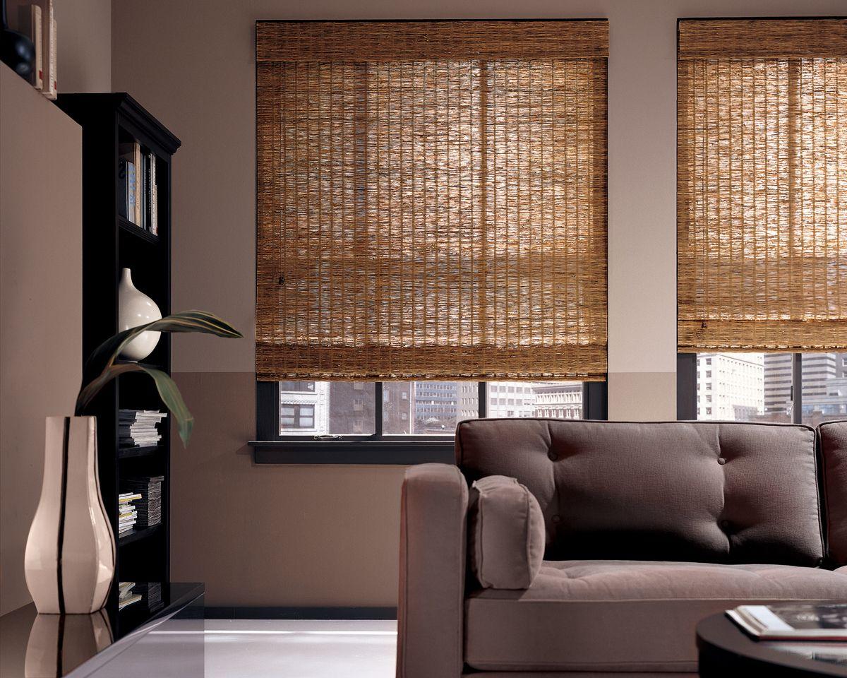 gaya tirai jendela bambu