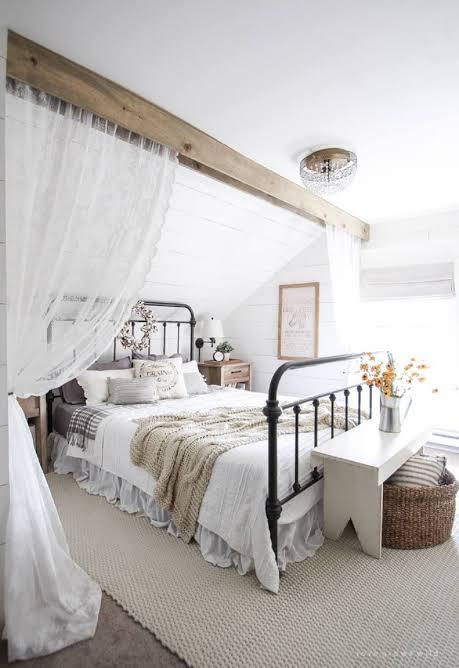 tren kamar tidur 2020 farmhouse - serbaputih