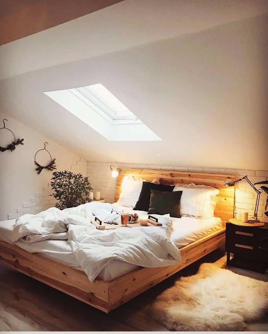 tren kamar tidur 2020 furnitur kayu