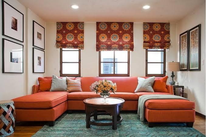 pilihan warna untuk ruangan ruang tamu
