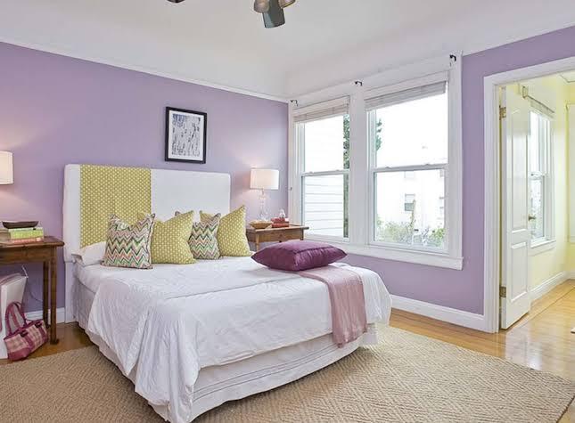 pilihan warna untuk ruangan kamar tidur