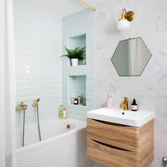pilihan warna untuk ruangan kamar mandi