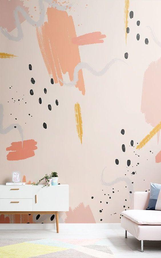 desain corak wallpaper kekinian 5