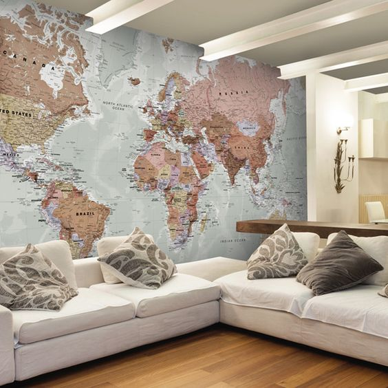 wallpaper peta dunia