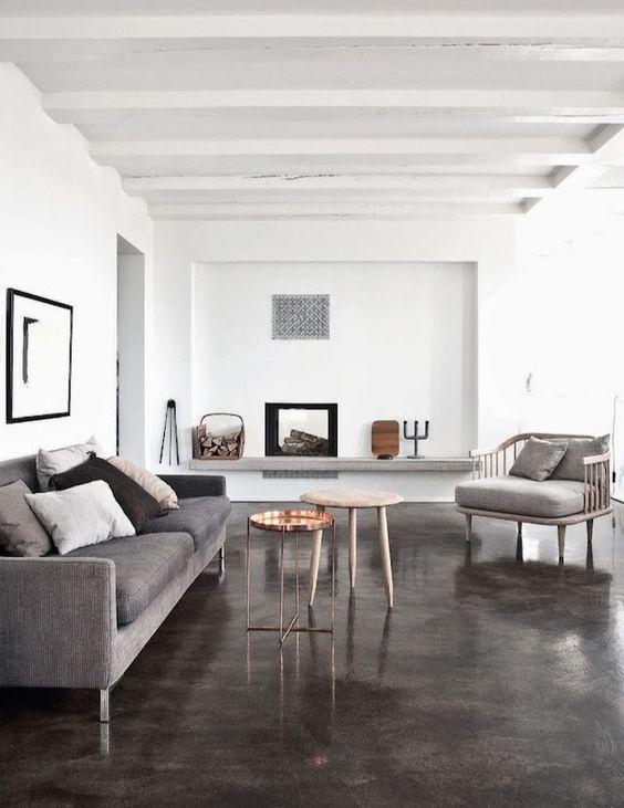 jenis desain lantai beton