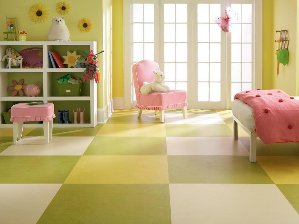 jenis desain lantai linoleum
