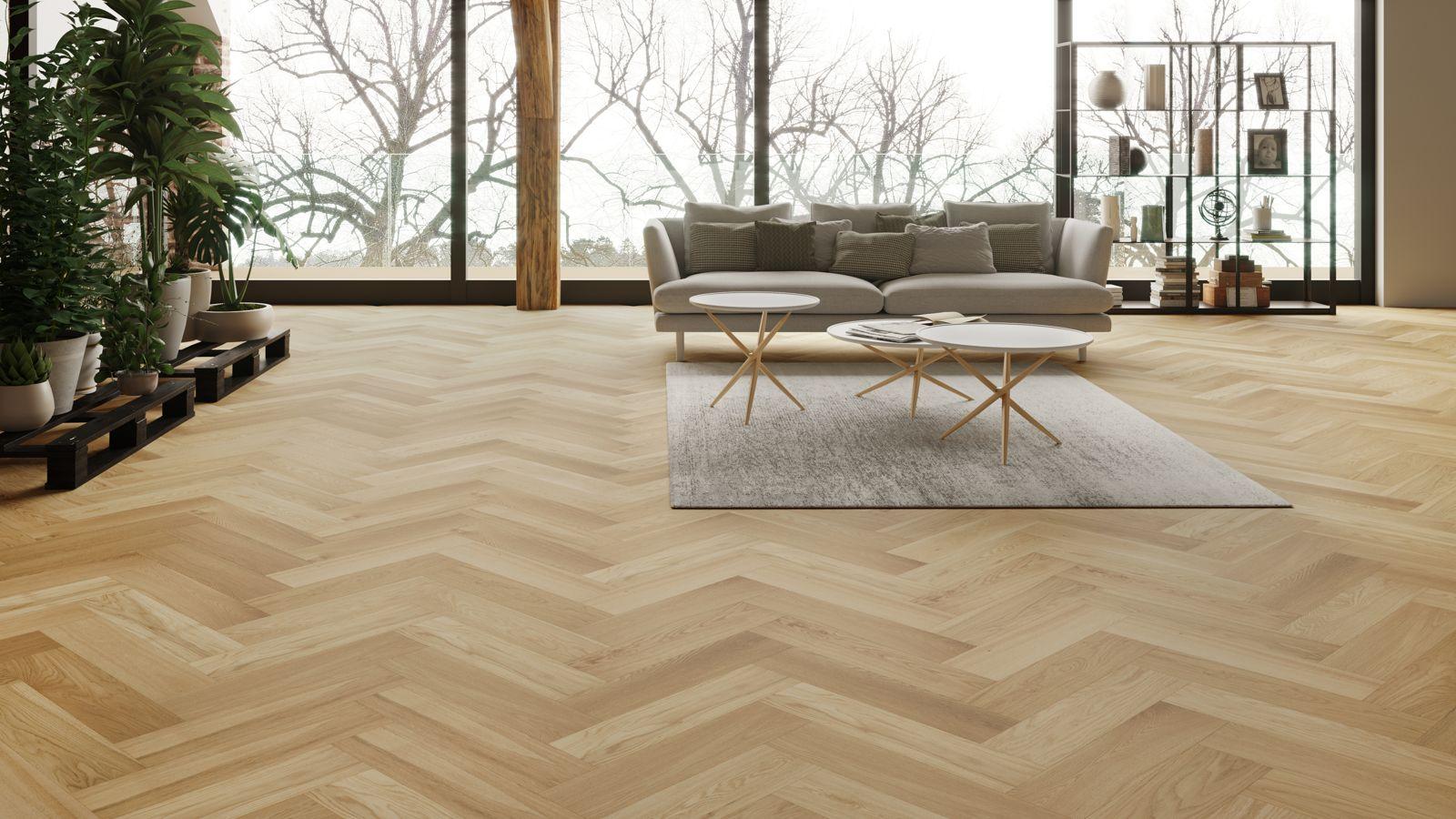 jenis desain lantai parket kayu