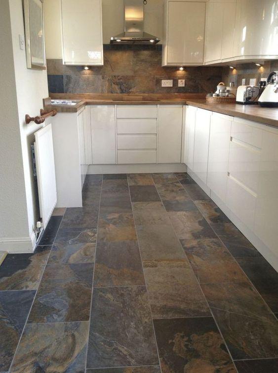 jenis desain lantai slate