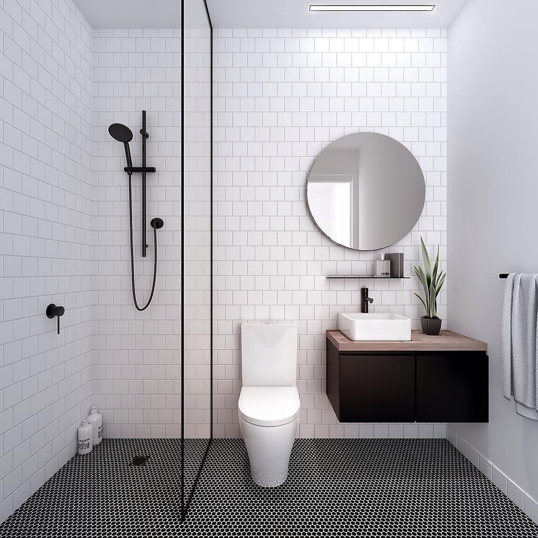 kesalahan dalam dekorasi kamar mandi - batansan area kering dan basah