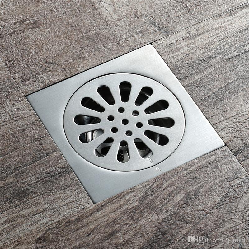 kesalahan dalam desain kamar mandi - letak floor drain