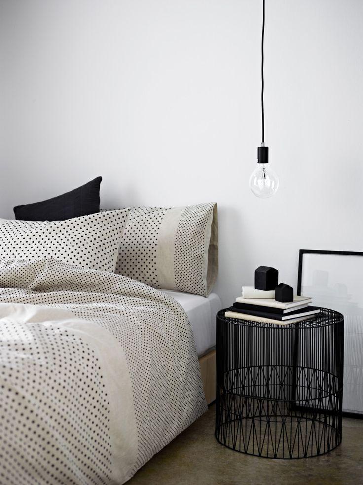 Dekorasi motif polka dot - Bed cover polka dot