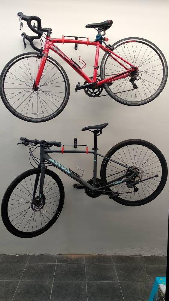 rak sepeda dinding