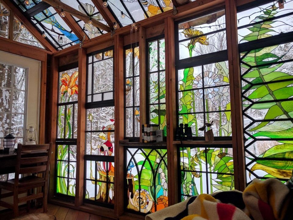 Inspirasi stained glass