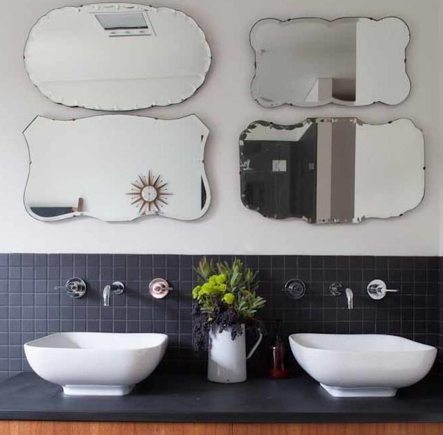 cermin kamar mandi artsy